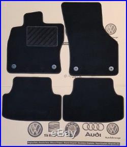 VW Golf 7 Fußmatten vorne hinten Veloursmatten Stoffmatten original Zubehör MK7