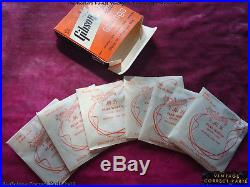 Vintage 1950s Gibson String Set 100% Original with ALL flatwound strings 1959 1958
