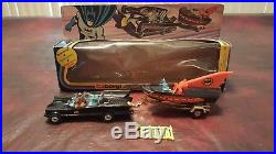 Vintage 1976 Corgi Gift Set 3 Batmobile & Batboat All Original Prestine Set LOOK