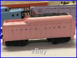 Vintage All Original 1957 LIONEL O Gauge 1587S Pink Girls Train Set