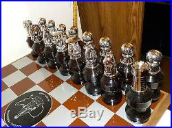 Vintage Avon Chess Set 32 Bottles Pieces Plus Board All Full In Original Boxes