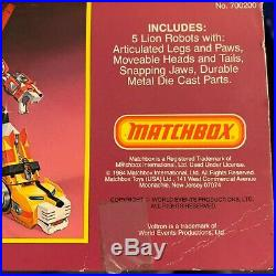 Voltron Collection Matchbox All Three Set From 1984 Original Japan Issues
