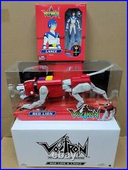Voltron Mattel Matty Collector Set All 5 Lions and Figures including Sven Figure