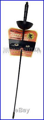 Walt Disney rare vintage all original ZORRO Toy Sword & Mask Set, Lone Star 1965