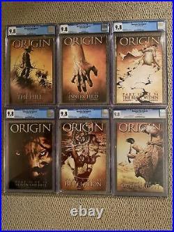 Wolverine The Origin 1-6 All CGC 9.8 Complete Set